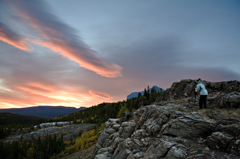 pathfinder - Nightingale shoots a Sunrise