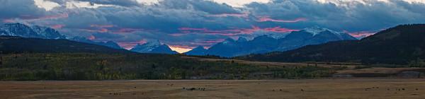 Ann McRae - Sunset From Duck Lake Rd