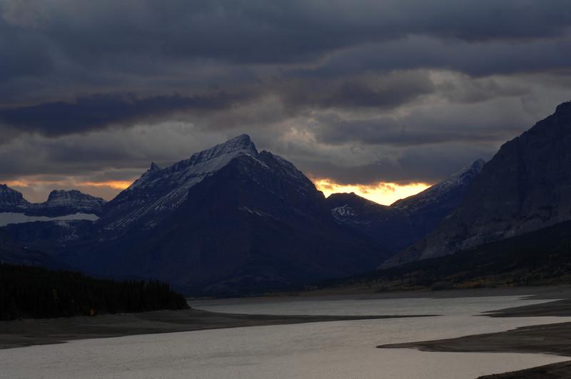 """Greaper - """"Lake Sherburne View, Glacier National Park"""""""