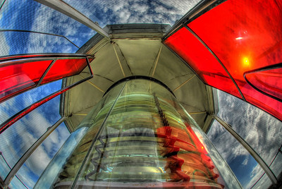 This image is a 9 shot HDR of the Key West Light House reflector. taken by Ryan Armbrust