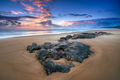 Rainbow Beach Sunrise, taken by David Parry