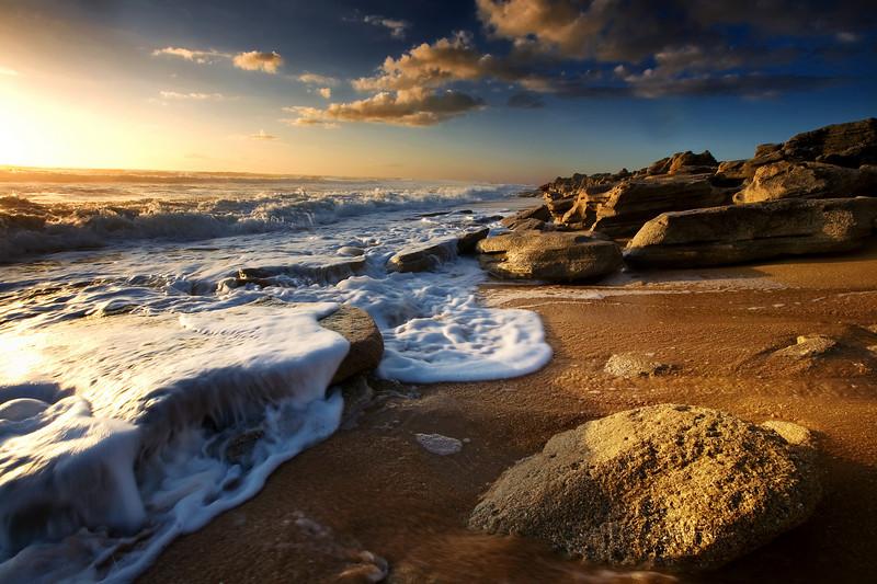 chrismoore<br /> <br /> Washington Oaks Beach at sunrise