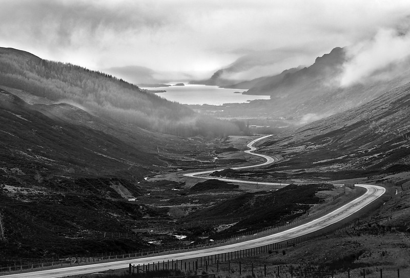 "OsirisPhoto<br /> ""The Road to Kinlochewe"""