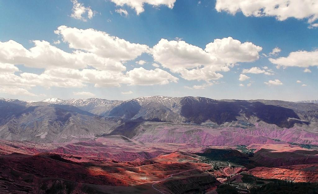 Mountains of Iran Photographer:  Sfau