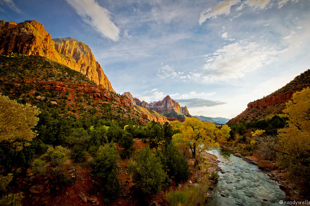 rwells -  Virgin River - Zion NP