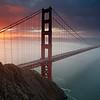 Grizzle6<br /> Sunrise at the Golden Gate Bridge