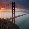 Grizzle6<br /> Sunrise at the Golden Gate Bridge
