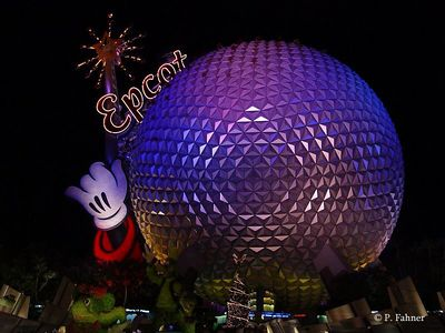 Epcot Center,  Disney World