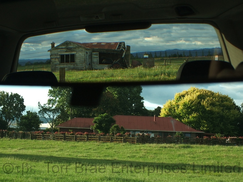 Life in the Rear View Mirror<br /> (Gow Road) - Glass - 13