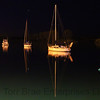 Boats on Whakatane River at Night (Scape - 17)