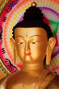 Shakyamuni Buddha at Lama Zopa's house.