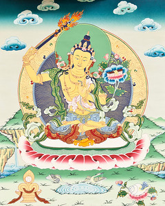 Manjushri thangka at OCBC.