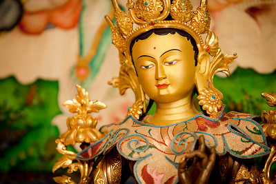 Green Tara at Vajrapani