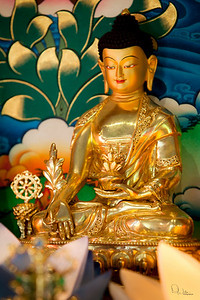 Small MB statue at Lama Zopa's house.
