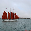 Old Sailing Ship, San Diego Harbor