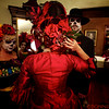 Day of the Dead Costumed Participants prepare for the Candlelight Procession