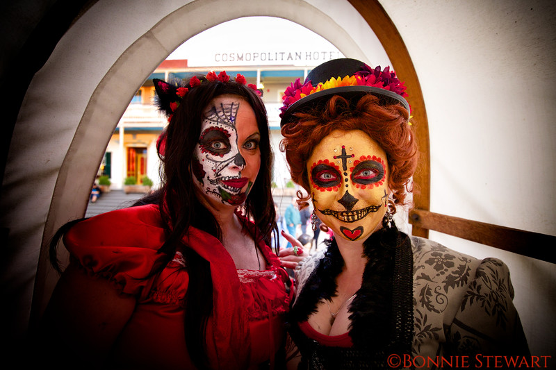 Day of the Dead Costumed Participants