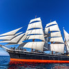 The Star of India sailing with full sails