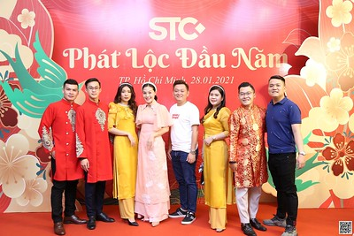 Song Tien Corp (STC) | Year End Party 2020 instant print photo booth @ The Adora Dynasty | Chụp hình in ảnh lấy liền Tất niên 2020 tại TP Hồ Chí Minh | WefieBox Photobooth Vietnam