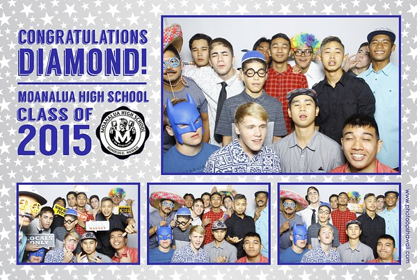 Diamond's Graduation Party (Fusion Photo Booth)