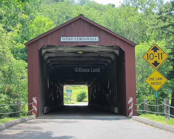 Another covered bridge on the way back from Kent Falls.