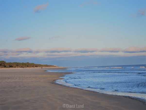 loved the wide, flat beach