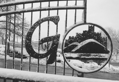 Gate to Glenbard West High School