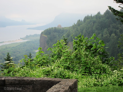 vista house in Columbia River Gorge