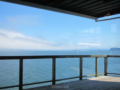 view from restaurant in Astoria