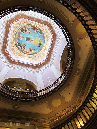 Golden Dome, Interior