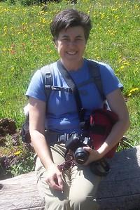 2009, Pausing on a Vail Pass, Colorado Hike