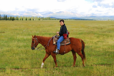 2009, Trail Ride at Platte Ranch, Colorado