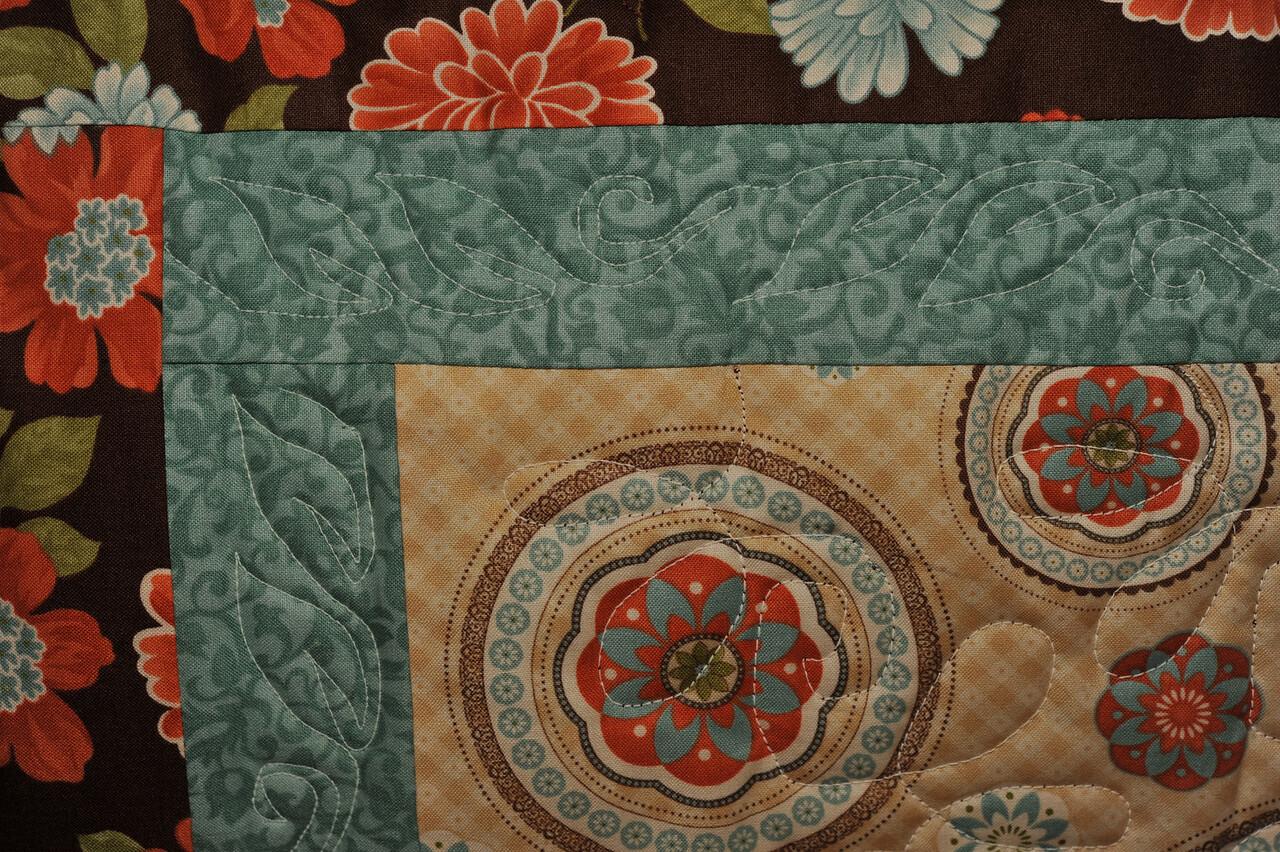 first quilt #1