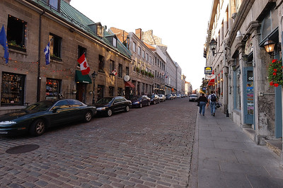 2004-09-03 Montreal, Canada: Old City