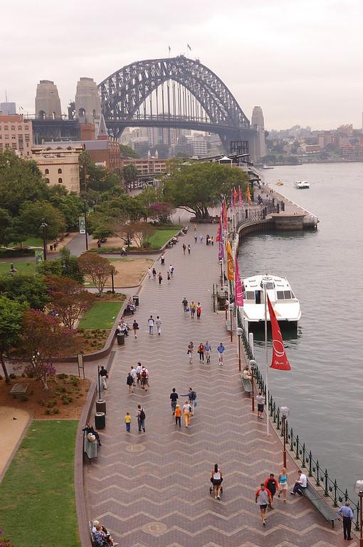 Mark Phillips, Circular Quay, Sydney, Australia