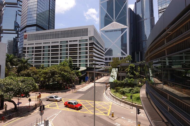 Mark Phillips, 2005.06.10 Pedestrian walkways, Hong Kong