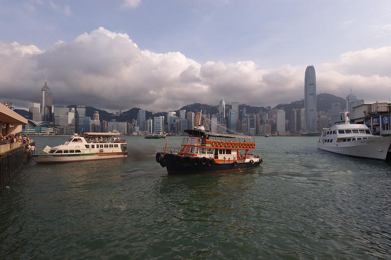 Mark Phillips, The Star Ferry, Hong Kong, June 10, 2005
