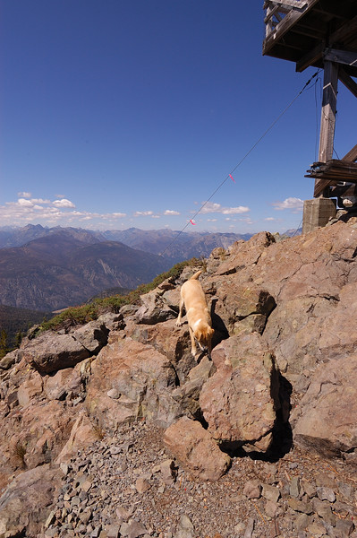 Mark Phillips, 2005.08.13 Goat Peak, WA