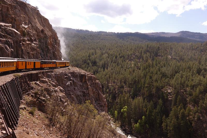 Durango & Silverton Railroad, Durango, CO, 2013.05.19