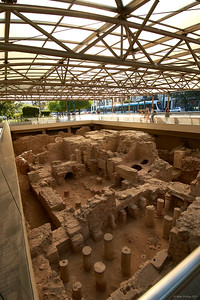 Excavation of Roman baths, 2017.10.09, Athens, Greece