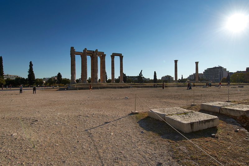 Temple of Olympian Zeus, Athens, Greece, 2017.10.09