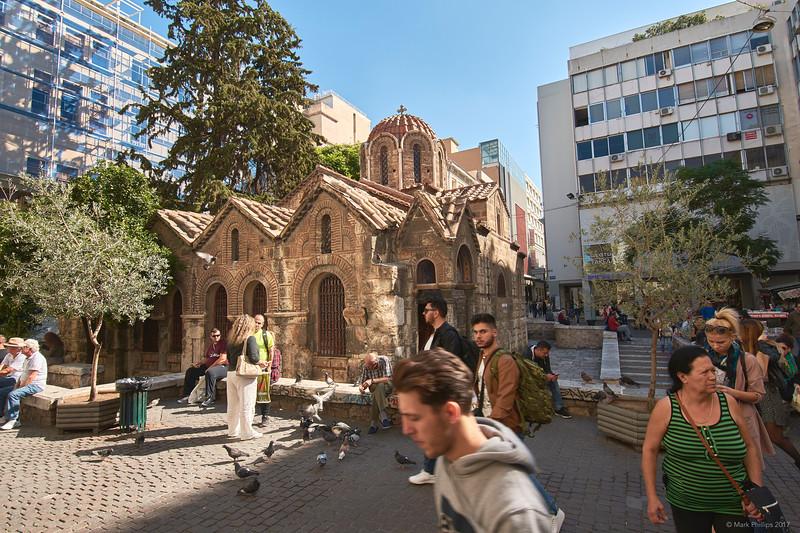Church of Panagia Kapnikarea, Athens, Greece, 2017.10.09