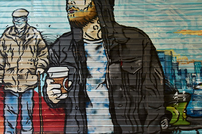 Wall mural, 2017.10.09, Athens, Greece