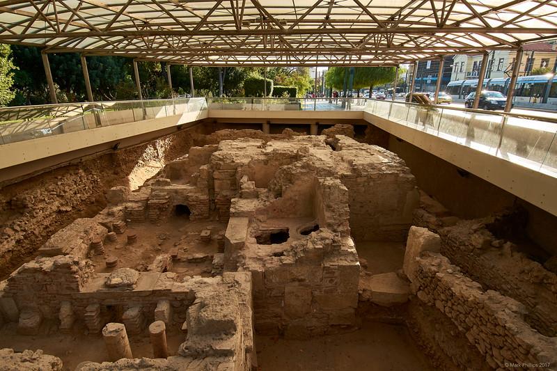 Roman baths, Athens, Greece, 2017.10.09