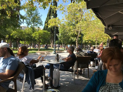 Café, Syntagma Square, 2017.10.09, Athens, Greece