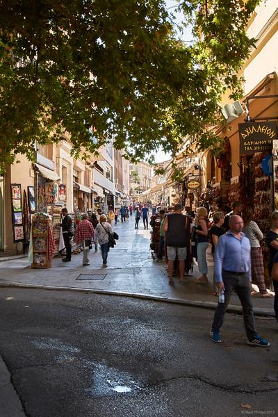 The Plaka, Athens, Greece, 2017.10.09