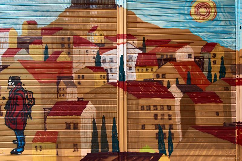 Wall mural, Athens, Greece, 2017.10.09