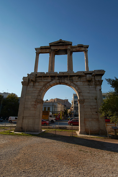 Arch of Hadrian, Athens, Greece, 2017.10.09