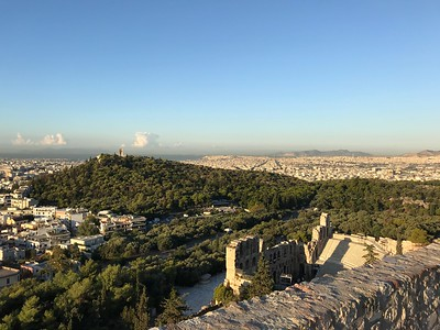 2017.10.10, Odeon of Herod Atticus from the Acropolis, Athens, Greece