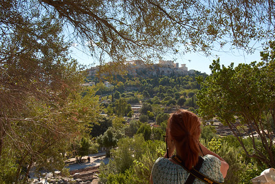 2017.10.10, Acropolis from the Ancient Agora, Athens, Greece
